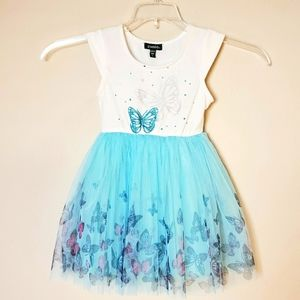 ZUNIE Butterfly Tutu Dress